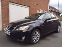 2007 57 Lexus IS220d 2.2 Turbo Diesel+Leather+FSH+115k not avensis d4d passat 320d 525 accord