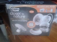 Tommee Tippee Closer To Nature Electric Breast Pump,as new in box