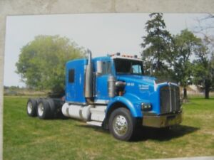 2000 Kenworth T800 HEAVY AXLES WETLINE