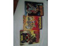 Vintage Hotspur books for boys x3