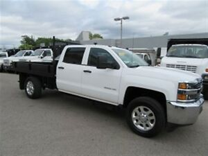 2015 Chevrolet SILVERADO 3500HD Diesel SRW 4X4  with 9 ft flat d