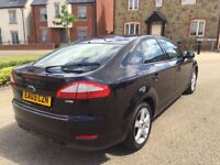 Ford Mondeo 1.8 TDCi Diesel Edge 5dr 2009 Black Long MOT Part exchange welcome