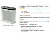 A very good condition air purifier