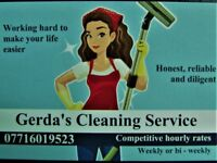 Gerda's Cleaning Service (Domestic) Reliable and Diligent