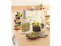 Kenwood electric spiralizer ( Get creative and go healthy in the kitchen )
