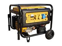 Villiers V6000ES 6kw Silent petrol generator