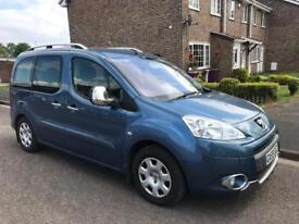 59 PEUGEOT PARTNER TEPEE, MOTABILITY, WHEEL CHAIR ACCESS VEHICLE, 21k, FSH INC NEW CAMBELT