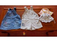 Baby girl clothes 6-9 months, more than 15 items