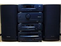Technics CH510 seperates componet HiFi stack system with Technics speakers & remote control £110 ono