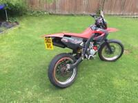 Derbi x-race 50cc with 80cc big boar