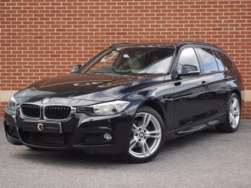2015 15 BMW 3 Series 2.0 320d M Sport Touring xDrive 5dr (Black, Diesel)