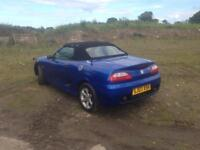 03/03 MG 1.6 TF SPORTS CONVERTIBLE (HARDTOPINCLUDED)