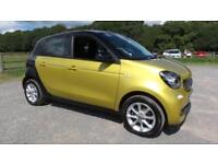 2016 16 SMART FORFOUR 1.0 PASSION 5D 71 BHP