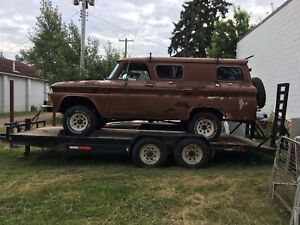 Rare Chevy panel van V8 std 4x4