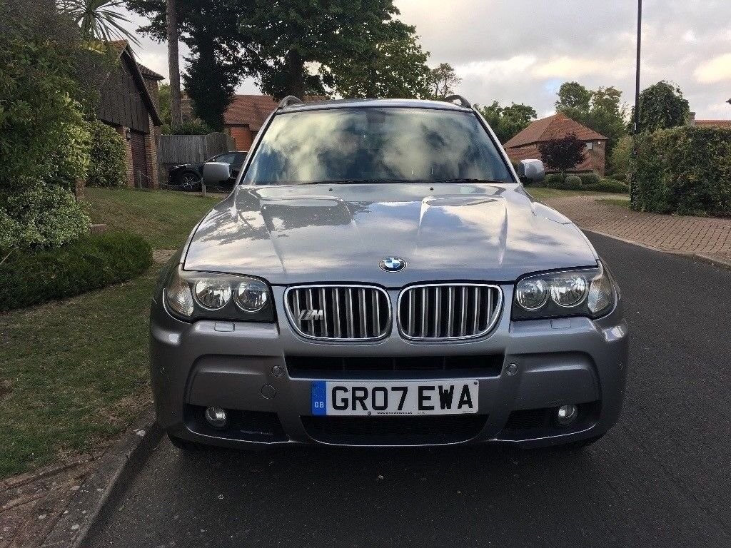 2007 bmw x3 3 0 sd m sport twin turbo auto sat nav. Black Bedroom Furniture Sets. Home Design Ideas