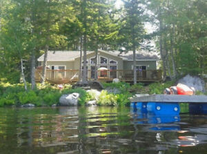 Aug.Weeks Available -  Vacation Home - Beautiful Sherbrooke Lake
