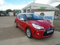 CITROEN DS3 1.6 e-HDi Airdream DStyle 3dr (red) 2011