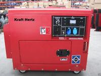 KraftHertz 6Kva KH6600D Diesel Generator