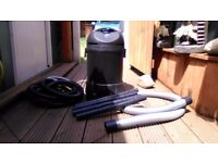 30L Oypla pond vacuum cleaner
