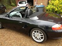 FOR SALE Porsche Boxster 2003 Black/Black Leather.