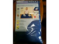 Brand new ironing blanket, blue in perfect unused condition