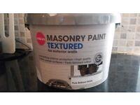 New Masonry paint