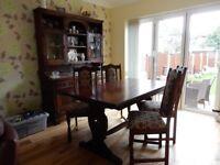 Old Charm Dark Oak Furniture