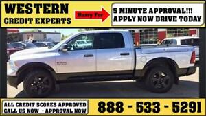 2014 Ram 1500 SLT 4x4 Crew ~ RAM BOX ~ 3.6L V6 8 Speed~ $226 B/W