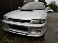 impreza version 2 wrx turbo my95 rust free stunning car