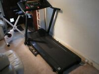 ROGER BLACK TREADMILL / RUNNING MACHINE WITH POWER INCLINE
