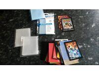 Trading card sleeves for Pokemon, MTG, Yugioh, football stickers etc