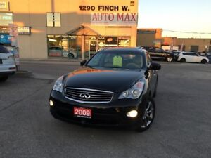 2009 Infiniti EX35 One Owner, Clean Carproof, navigation