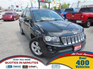 2014 Jeep Compass NORTH EDITION | LEATHER | ALLOYS