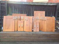 Kitchen solid wood doors