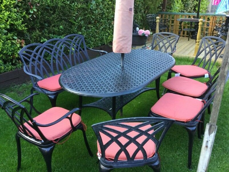 8 seater garden table and chairs chairs and benchin kings lynn norfolkgumtree 8 seat