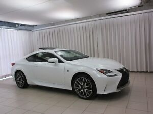 2015 Lexus RC 350 F-SPORT AWD LUXURY COUPE 4PASS