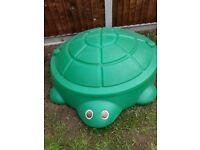 Turtle sandpit/pool