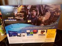Brand new Ps4 and uncharted 4 game