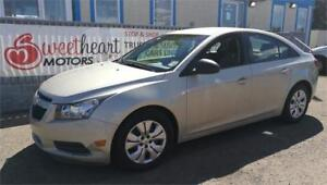 2013 Chevrolet Cruze 2L  ONE YEAR NO  PAYMENT OAC