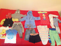 Used baby boy clothes bundle 6-9 mnths