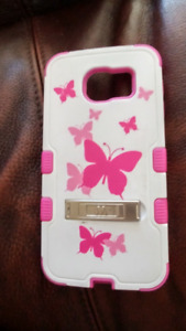 Pink Butterfly Cell phone Cover