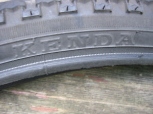 "Miscellaneous used 26"" tires"