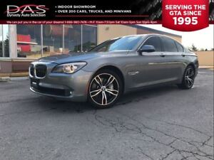 2010 BMW 7 Series 750ixDrive Navigation/Leather/Sunroof