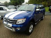 2012 Ford Ranger 2.2TDCi ( 150PS ) 4x4 Double Cab Limited NO VAT 72000 Miles