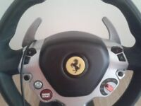 Ferrari vibration full steering wheel and peddles