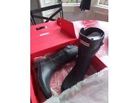Women's Original Hunter Wellington Boots size 4 (37 EUR)