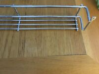 400mm Single Chrome Spice Rack - Brand New