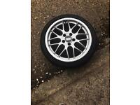 Genuine bbs wheels 5x110 17