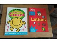 Counting and letters learning books new