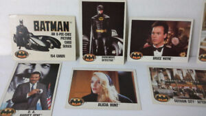 1989 Batman O-Pee-Chee picture collector card series